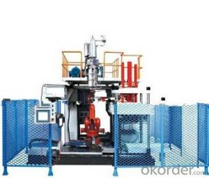 Three-dimensional Plastic extruder Blow Molding Machine With CAMX High Output