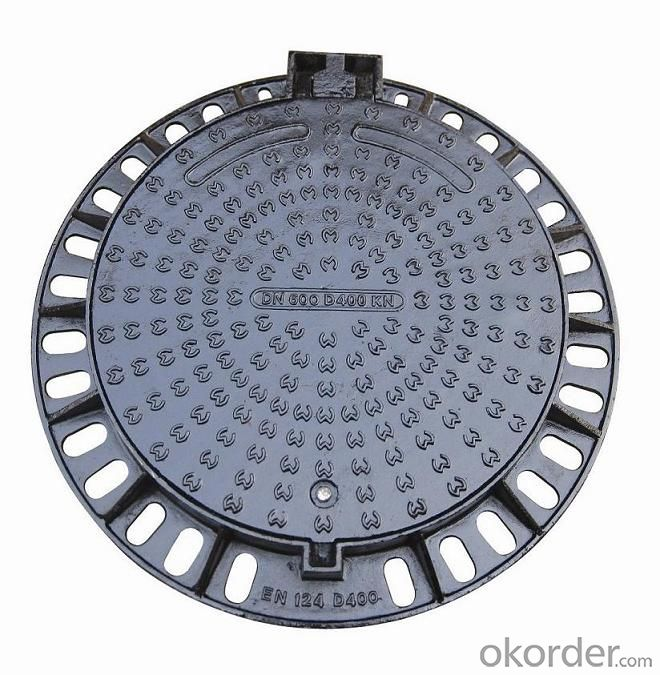 Manhole Cover Ductile Cast Iron Made in China on Sale Heavy Medium  Telecom Sew