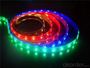 9v battery powered led strip light SMD 5050 RGB