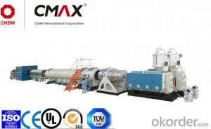 CMAX Large Diameter HDPE Water Supply and Gas Supply Pipe Extrusion Line