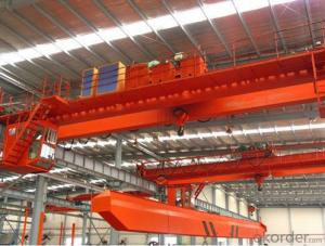 Low Level Slewing Electromagnetic Overhead Crane with Hanging Beam