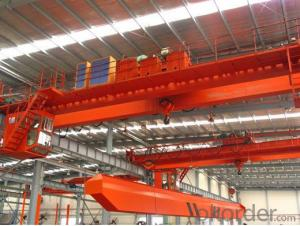 Competitive Price 3-5t Single Beam Overhead Crane with Grab