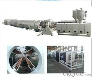 CMAX Output Steel Reinforced Spiral Pipe Extrusion Line