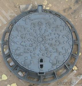 Manhole Cover Ductile Cast Iron on Hot Sale  China Heavy Telecom Sew