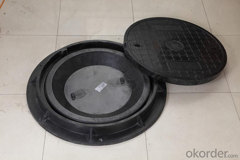 Manhole Cover Ductile Cast Iron on Sale Made in China Heavy Telecom Sew