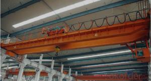 Overhead Crane with Magnet 7.5+7.5t for sale