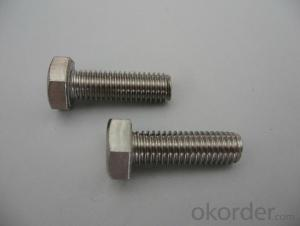 Bolt Half Thread M6*120  from China on Sale Now