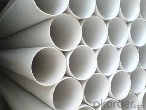 PVC Tubes UPVC Drainage Pipes on Sale in China