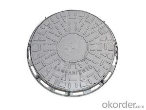 Manhole Cover Ductile Cast Iron China on Sale Heavy Telecom Sew