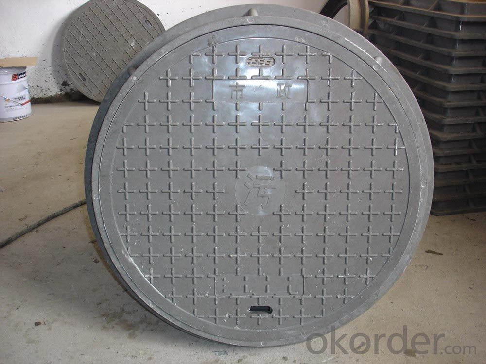 Manhole Cover Ductile Cast Iron China Heavy Telecom Sew