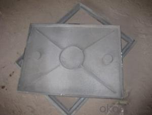 Manhole Cover EV124/480 Made in China on  Sale Black Beautiful