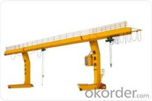single girder gantry crane with strong structure