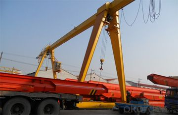 China professional single girder gantry crane manufacturer