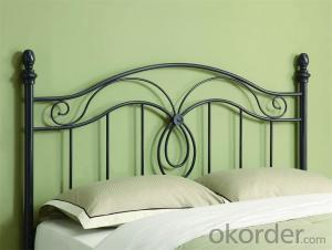 Metal Single Bed with Modern design Hot Sale MB307