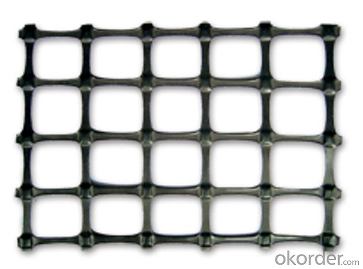 Embellish two-way plastic geogrid products forever