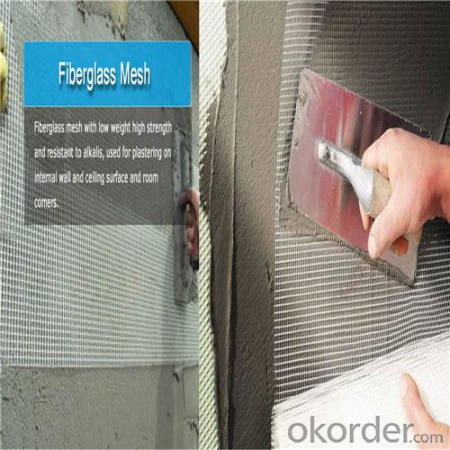 Fiberglass Wall  Mesh for Buildings Material