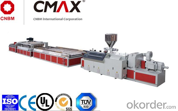 CMAX Series PE,PP And Wood, PVC And Wood (Foamed) Panel Extrusion Line