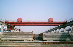 Double trolley double beam overhead crane
