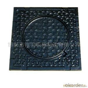 Manhole Cover  EN124 D400  on  Top  Sale Made in China