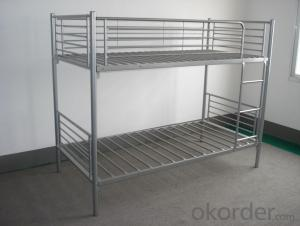 Metal Bunk  Bed with Workstation Modern design MB316