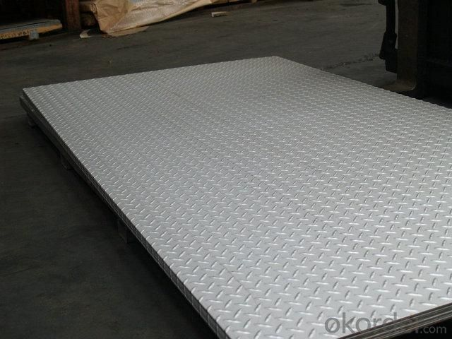 Embossed Stainless Steel Sheet metal with Surface Treatment