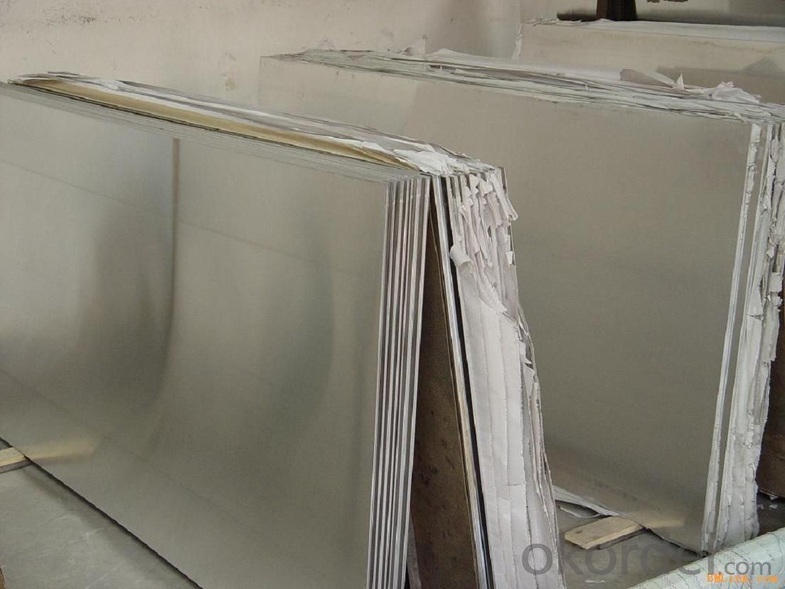 Stainless Steel Sheet Food with No.4 Surface Treatment