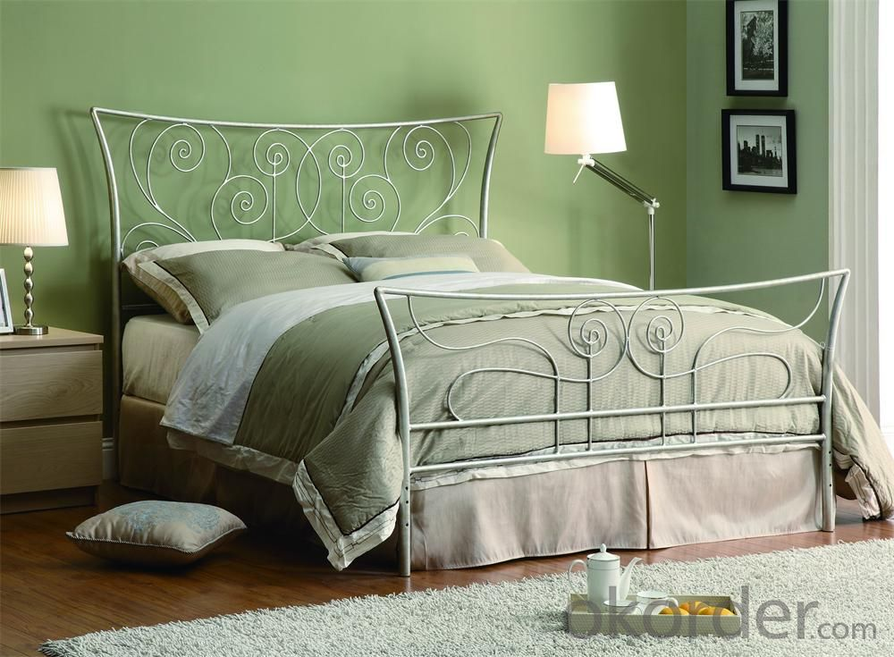 Metal Single Bed with Modern design Hot Sale MB304