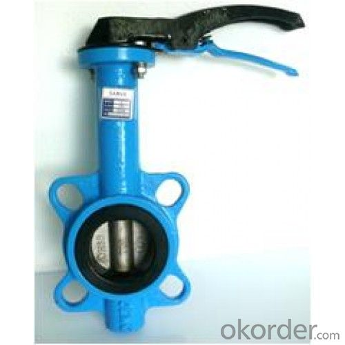 Butterfly Valve with Plastic Handle Made in China on Sale