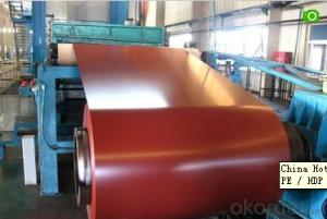 PE PVDF PPGI Coil ID 508mm /Prepainted Galvanized Steel Coil