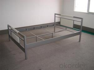 Metal Single Bed with Modern design Hot Sale MB309
