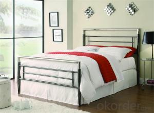 Metal Single Bed with Modern design Hot Sale MB328