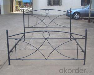 Metal Single Bed with Modern design Hot Sale MB308