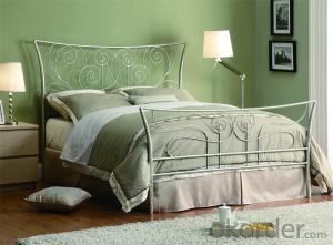 Metal Single Bed with Modern design Hot Sale MB301