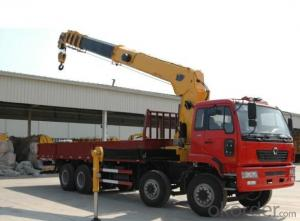 SNIO truck 4x2 chassis with 8ton boom crane 5tone to 8tone