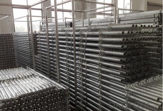 Ring Lock Scaffolding System with High Load Capacity and Safety