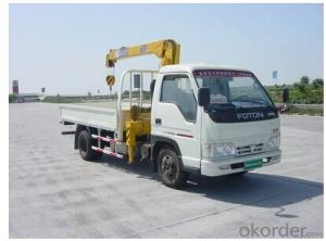 Mini Mounted Truck 5ton Telescopic Crane