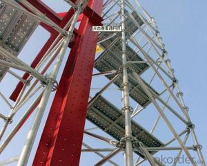 Ring-lock Scaffolding System for High-rise Buildings