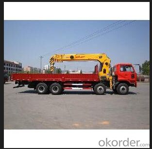 Cargo Lorry Crane 12ton with good performance