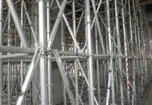 Ring Lock Scaffolding System for Formwork Shoring Systems