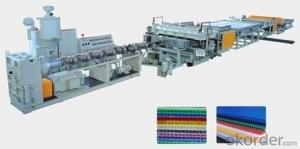 CMAX Plastic And Wood Profile And Plate Extrusion Line