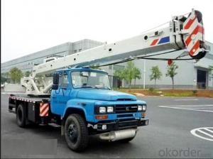 truck (rear eight tires) mounted with 10 Tons telescopic crane