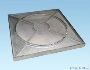 Manhole Cover Ductile Iron C250  Square