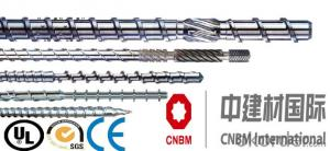 CMAX Parallel Twin Screw and Barrel For Plastic Extruder