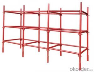 Ring Lock Scaffolding System for High-rise Buildings with High Load Capacity