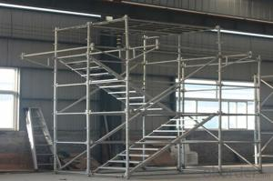 Ring Lock Scaffolding System with Good Load Capacity for Construction