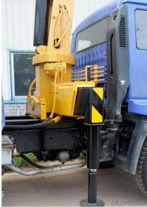 truck mounted crane tipper tray RHD with crane 5ton
