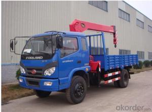 Lorry Loading Crane Truck Hiab Remoto Control Crane