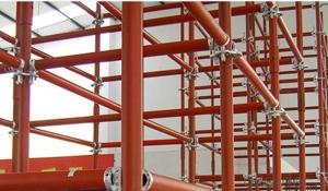 Ring Lock Scaffolding System in Formwork Construction