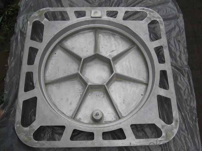 Manhole Cover Ductile Iron C250  Square