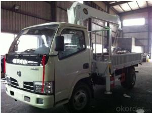 Mini Mounted Truck 5ton Telescopic Crane